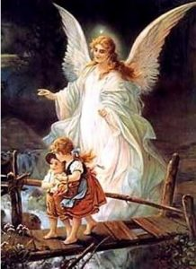 Pictures of angels described in the bible