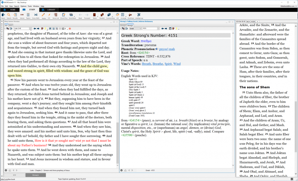 Wordsearch 11 Bible Software